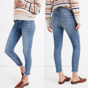 Maternity Side-Panel Skinny Jeans in Cordova Wash